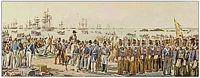 Desembarque do Exército Liberal em Arnosa do Pampelido (quadro de Roque Gameiro)